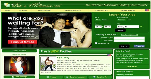 dating site for the rich